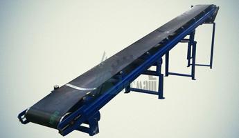 Конвейер ленточный желобчатый наклонный КЛЖ3-0,05-0,8х10,0-350-0-С-1