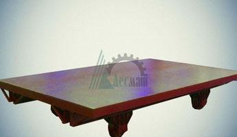 Телега рельсовая большегрузная ТРБ-10,0-2,5х4,0-500-1524