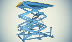 Ножничный гидравлический стол СПЭГ3-1,0-3,0-2,2*0,9