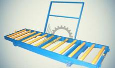 Тележка рельсовая с неповоротной роликовой платформой ТР-1,0-0,65х3,0-250(+/-10)-2000