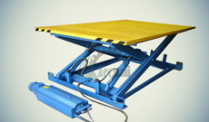 Ножничный гидравлический подъемный стол СПЭГ-2,0-0,9-1,3*0,8