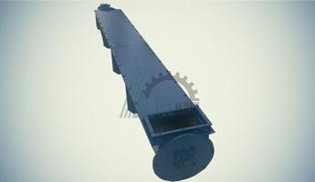 Конвейер винтовой шнековый желобчатый КШЖ-30-5000-300-4-0-1