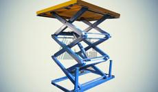 Ножничный гидравлический стол СПЭГ2-1,0-1,5-1,5*1,5