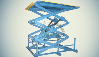Ножничный гидравлический подъемный стол СПЭГ3-1,0-3,0-2,2*0,9