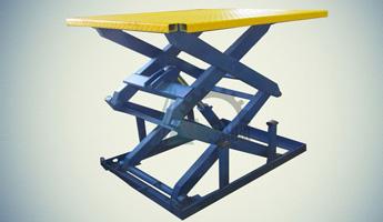 Ножничный гидравлический подъемный стол СПЭГ2-1,0-1,3-1,4*0,9