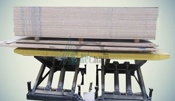 Ножничный гидравлический стол СПЭГx2-6,0-1,1-2,7*1,9