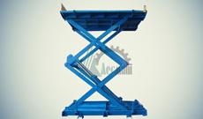 Ножничный гидравлический подъемный стол СПЭГ2-1,0-2,6-2,4*1,5
