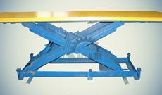 Ножничный гидравлический подъемный стол СПЭГ-1,0-0,9-2,0*1,2