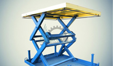 Ножничный гидравлический подъемный стол СПЭГ2-1,0-1,8-2,0*2,0