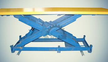 Ножничный гидравлический подъемный стол СПЭГ-1,0-1,4-2,4*1,4
